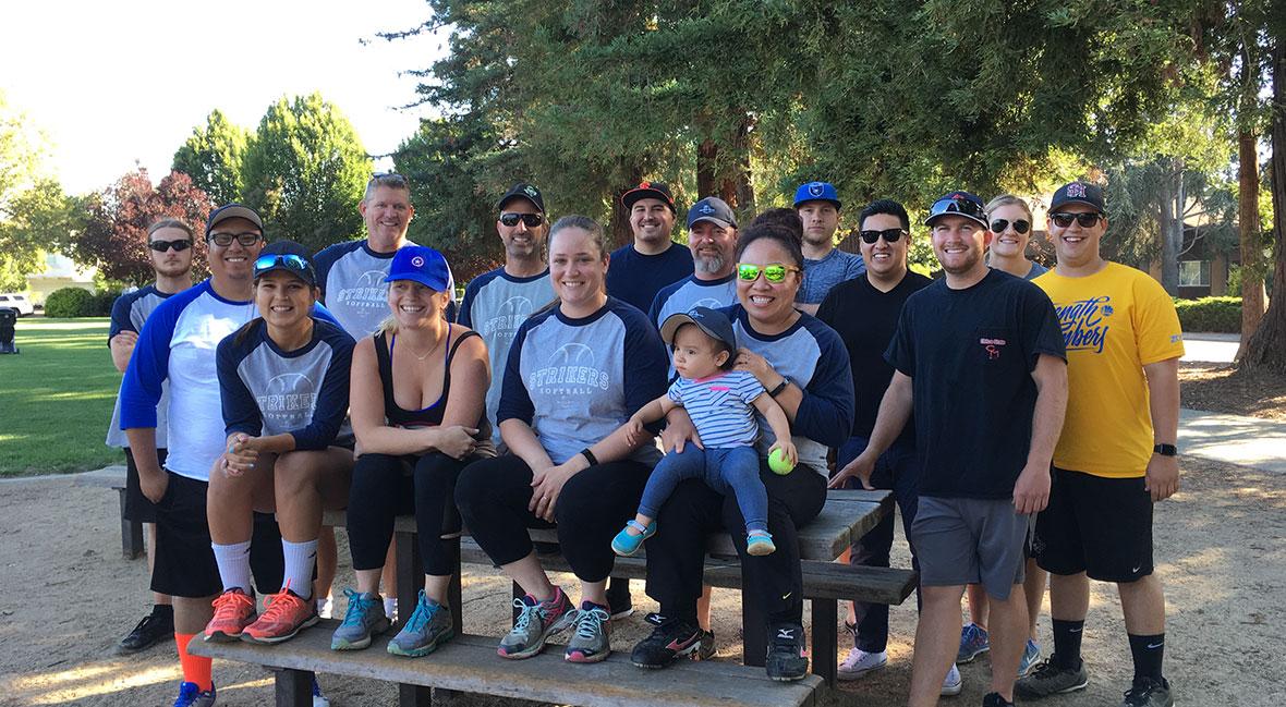 University Recruiting: SC Builders' softball team, the Strikers