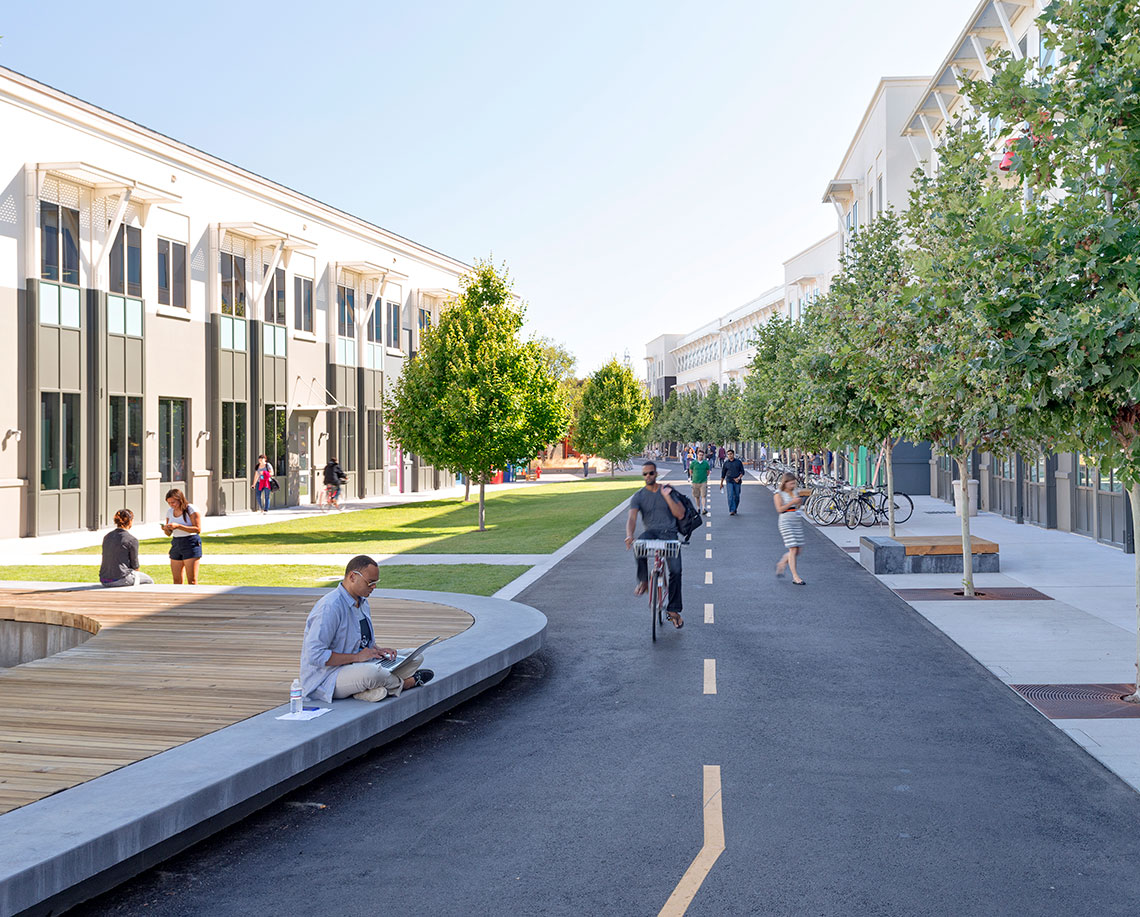 Facebook East Campus Courtyard