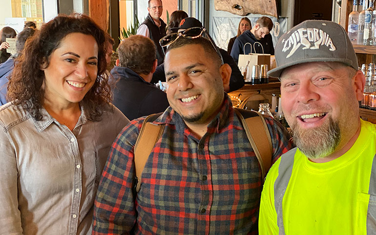 San Francisco office event - Thanksgiving lunch, 2019