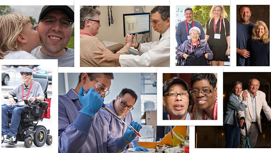 ALS collage of photos